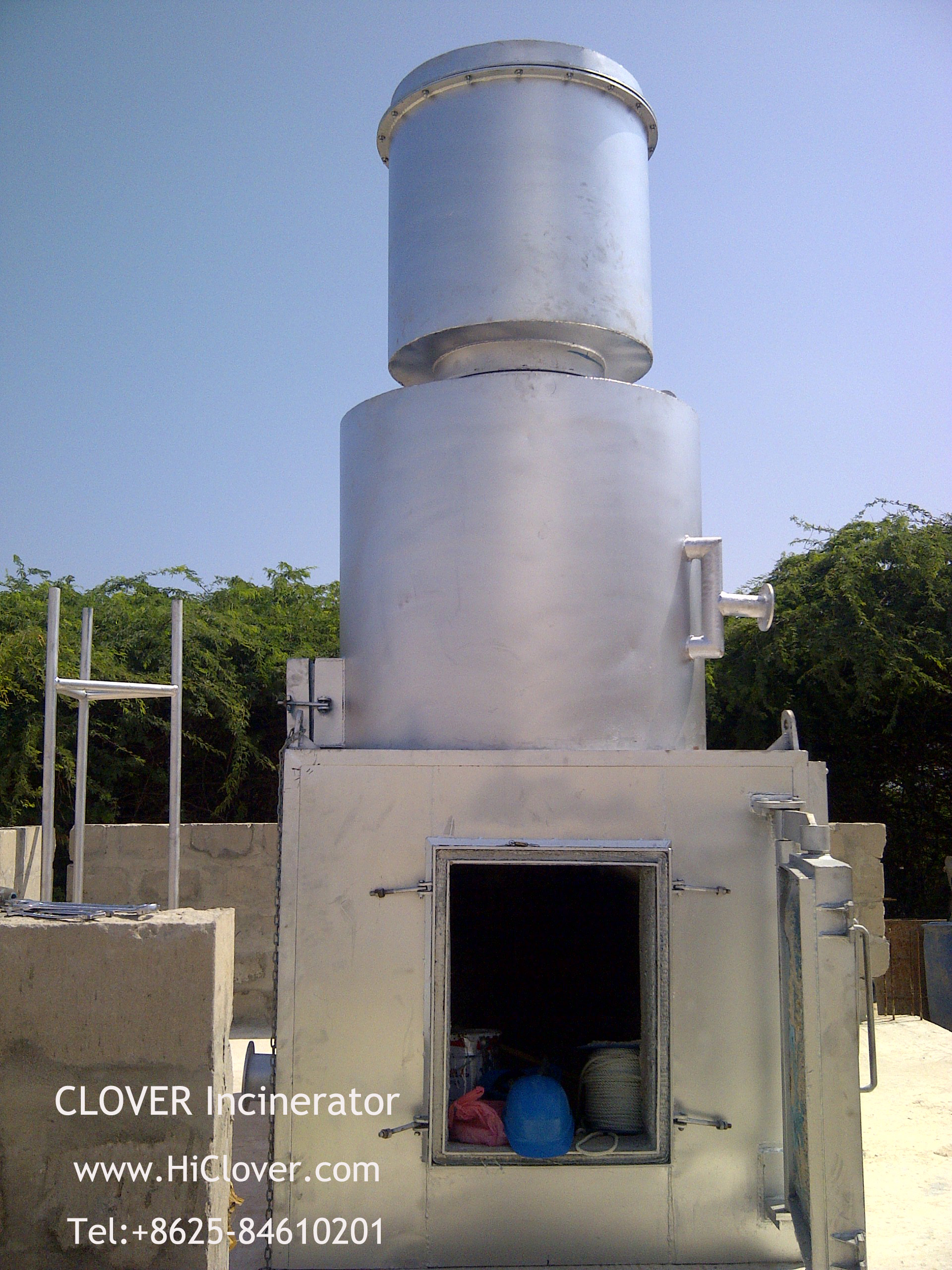 how to build an animal incinerator